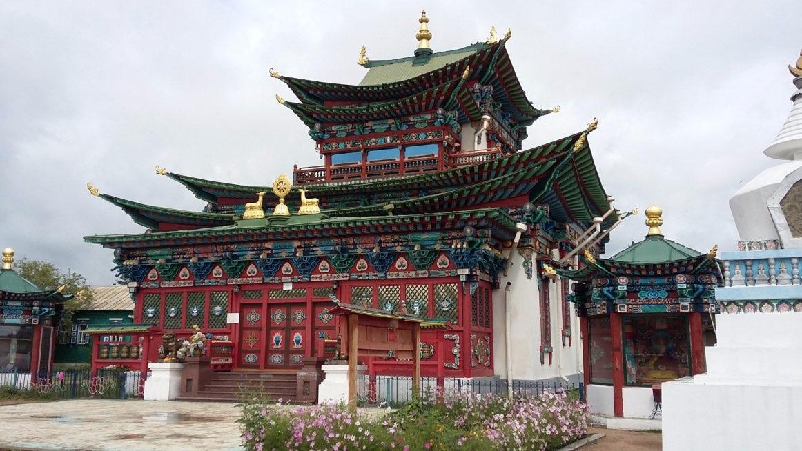 Ivolginsky Datsan - Buddhist monastery Ulan Ude