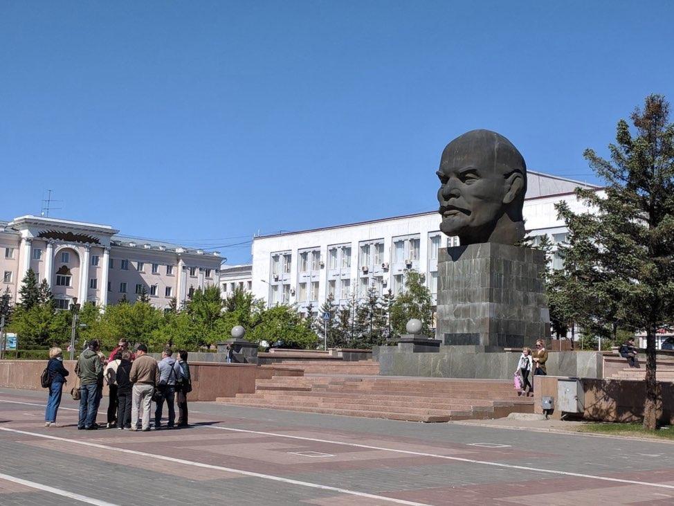 Monument Lenin - Ulan Ude