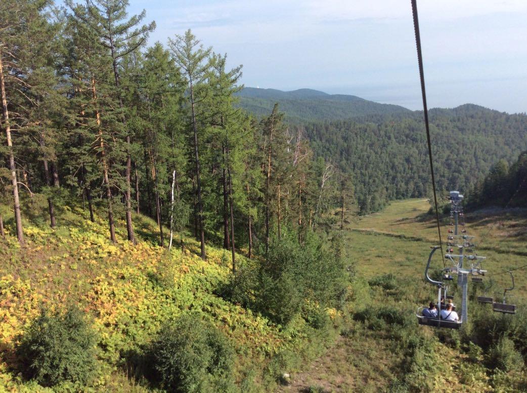 Chersky Stone - Baikal - Chairlift