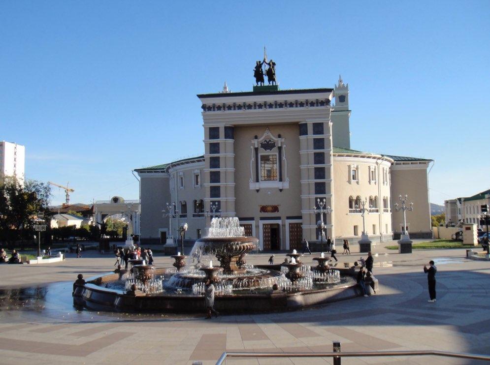 Oper Ulan-Ude-Theater