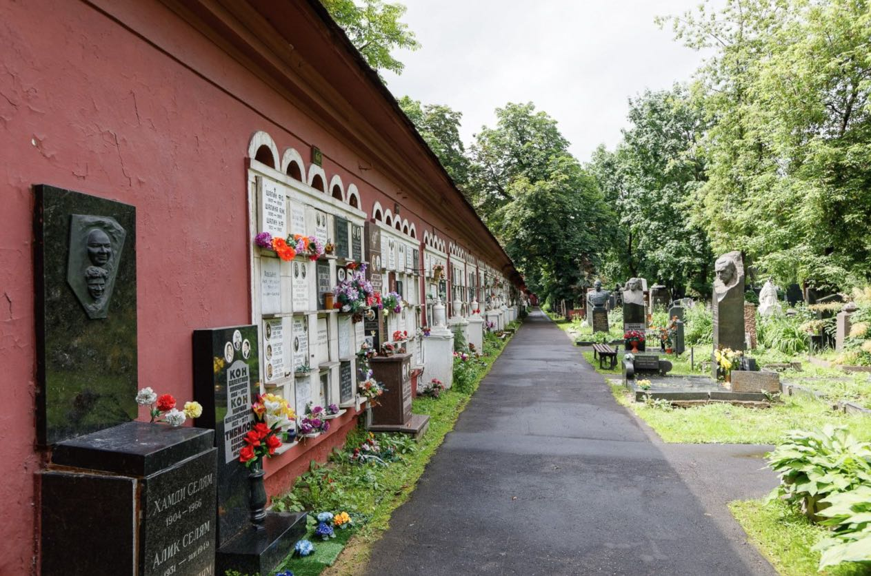 Novodevichy Convent Tombs - Moscow 7