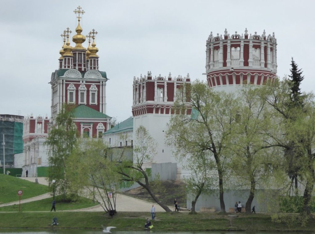 General View Novodevichy Convent