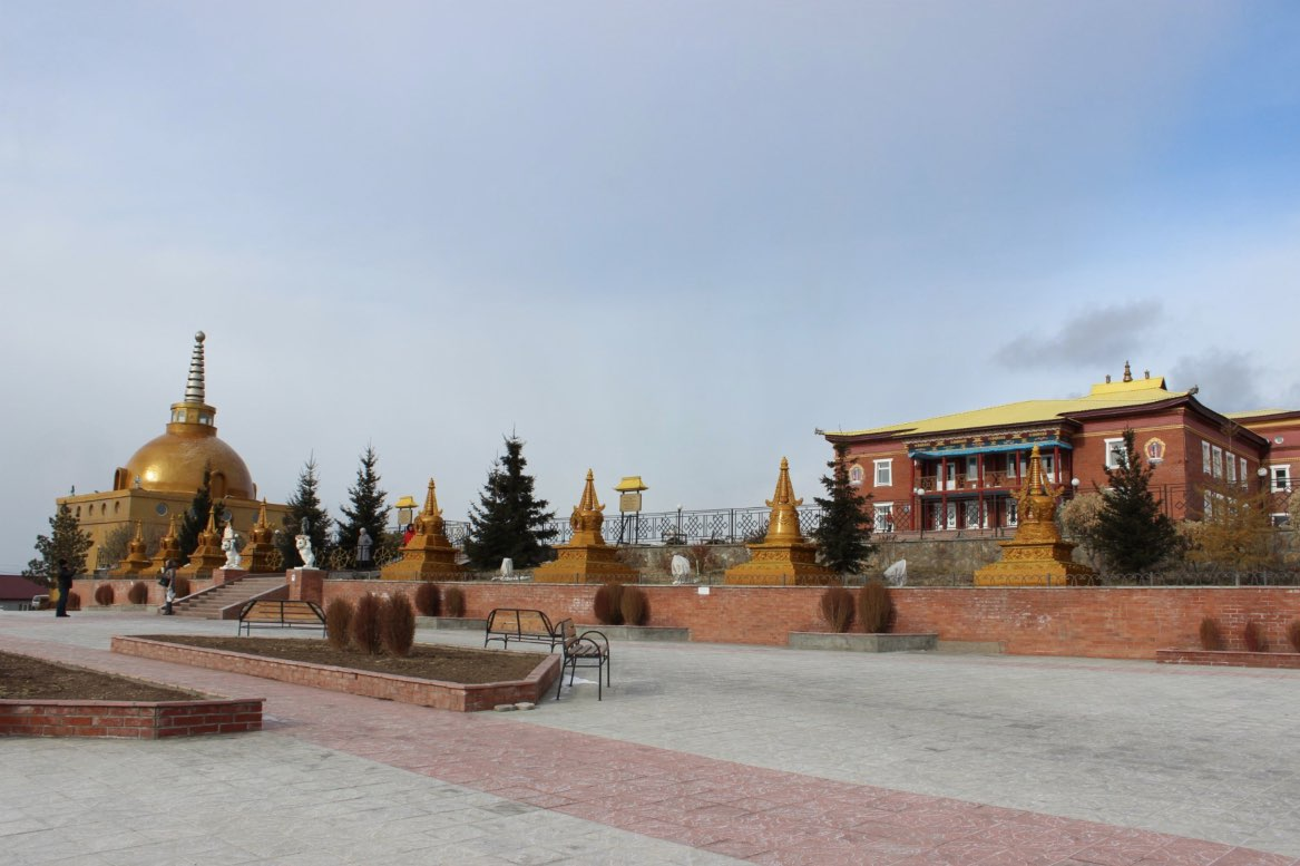 The Datsan Rinpoche Bagsha - Buddhist monastery Ulan Ude