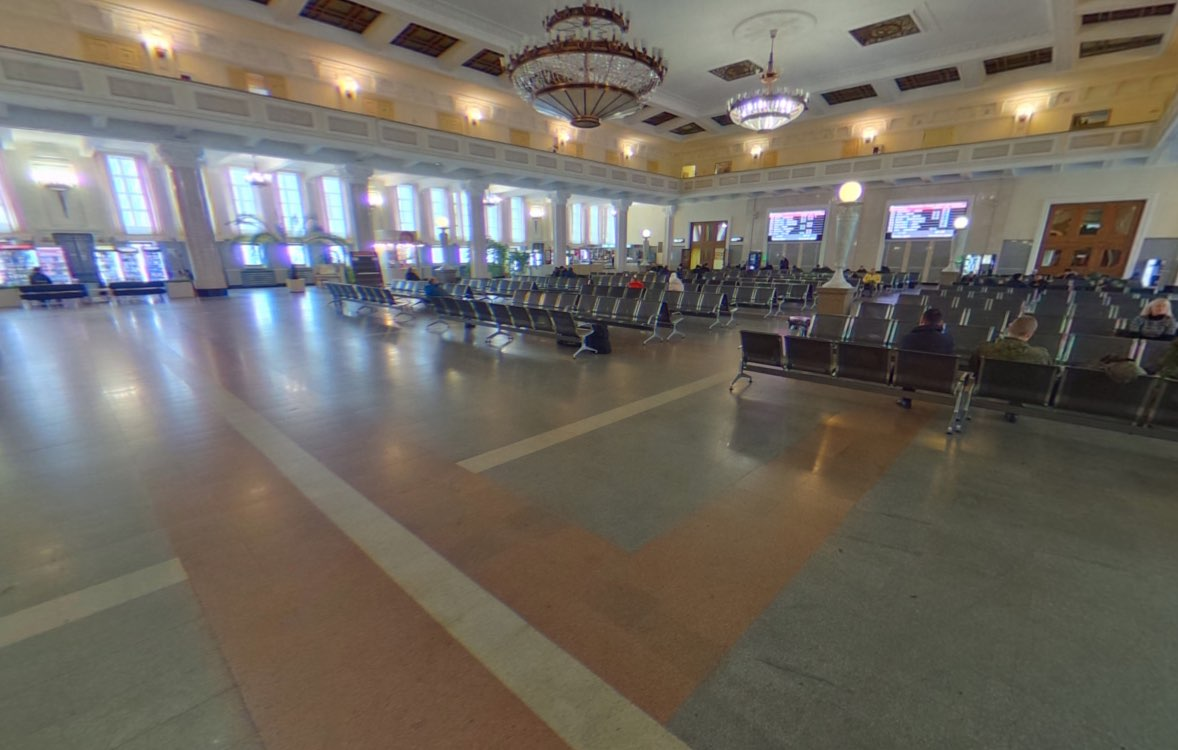 Novosibirsk Main Train Station - Interior