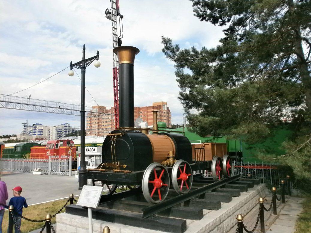 Railway Museum in Novosibirsk
