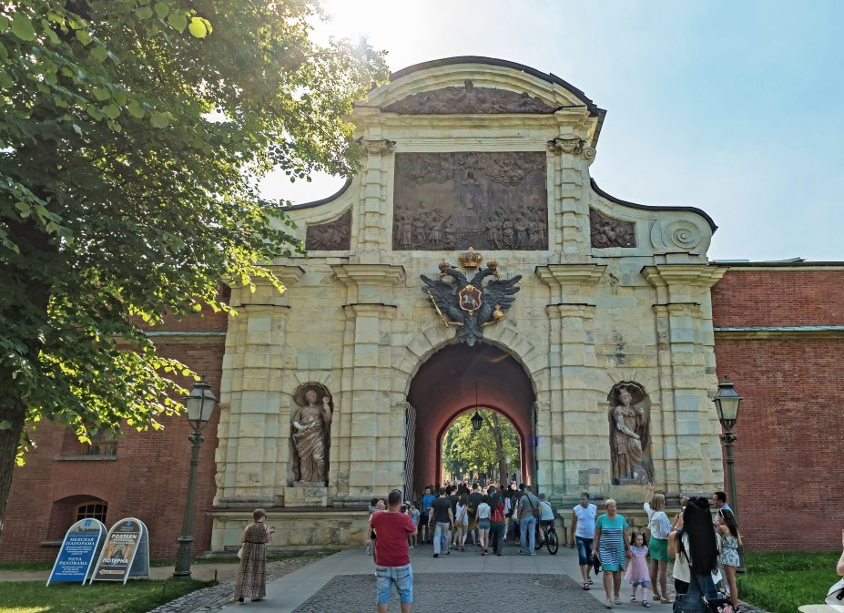 Peter of the Great gate - Main entrance - SS Peter and Paul Fortress