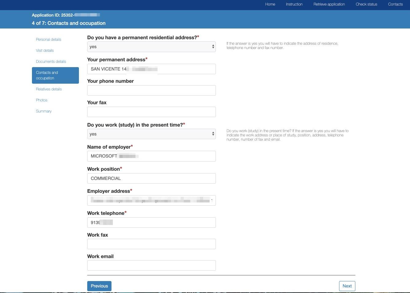 Wniosek o wizę elektroniczną na podróż do Rosji - Departament Konsularny Ministerstwa Spraw Zagranicznych Federacji Rosyjskiej 9