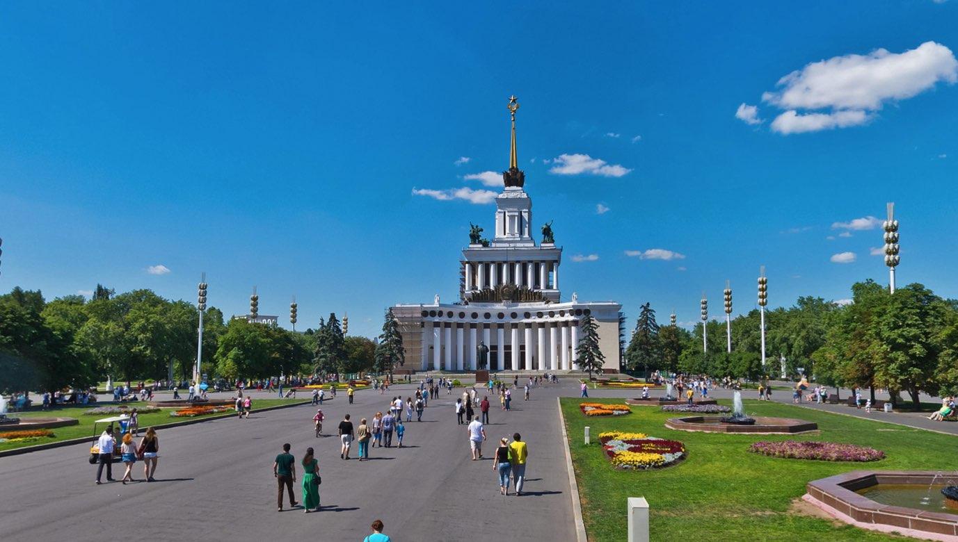 Casa de los pueblos de Rusia y monumento a Lenin