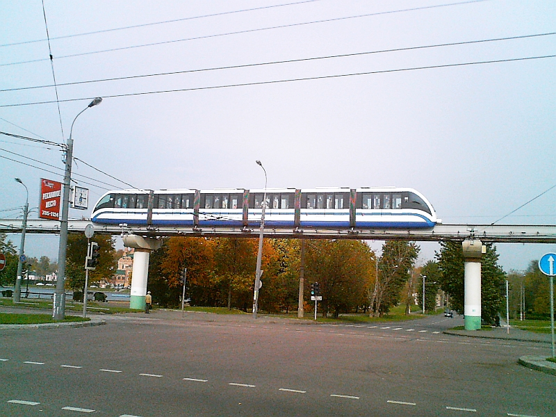 Monorail Ostankino in Moscow - VDNKh