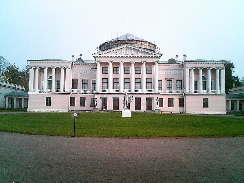 Ostankino Palace in Moscow