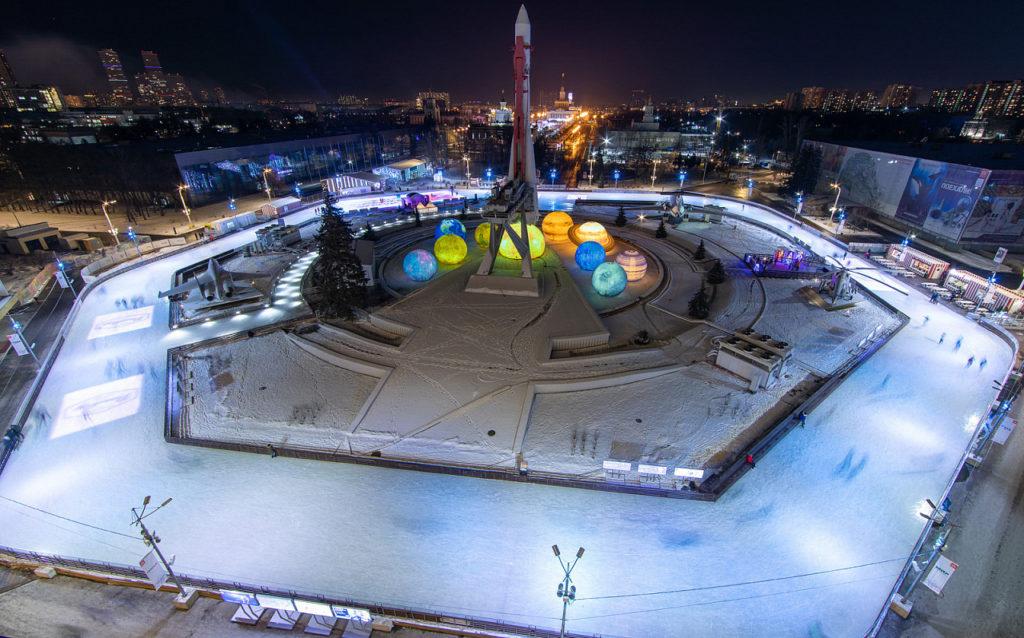 Ice rink - VDNH