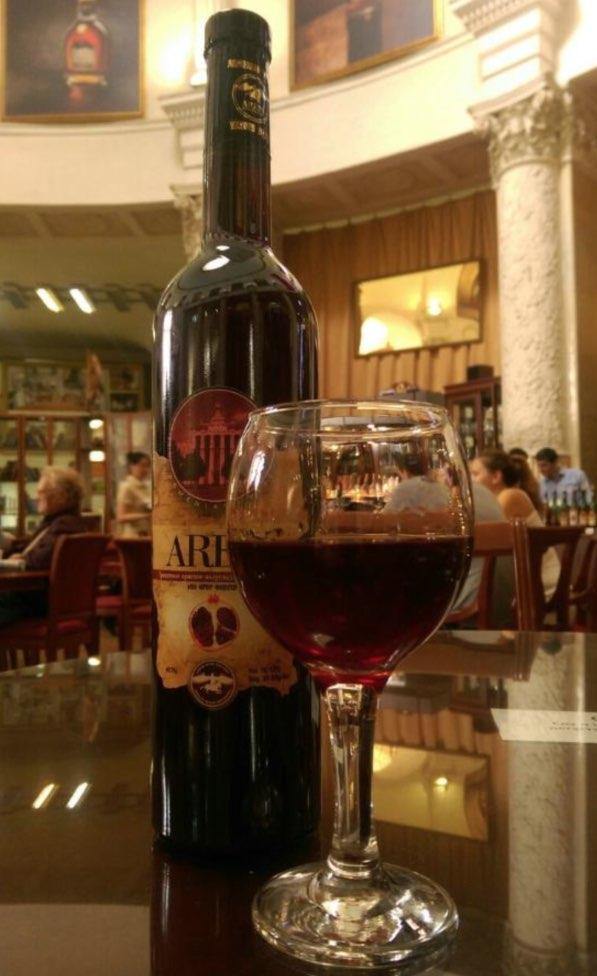 Ararat restaurant in Armenia Pavilion - ex former Siberia- VDNKh