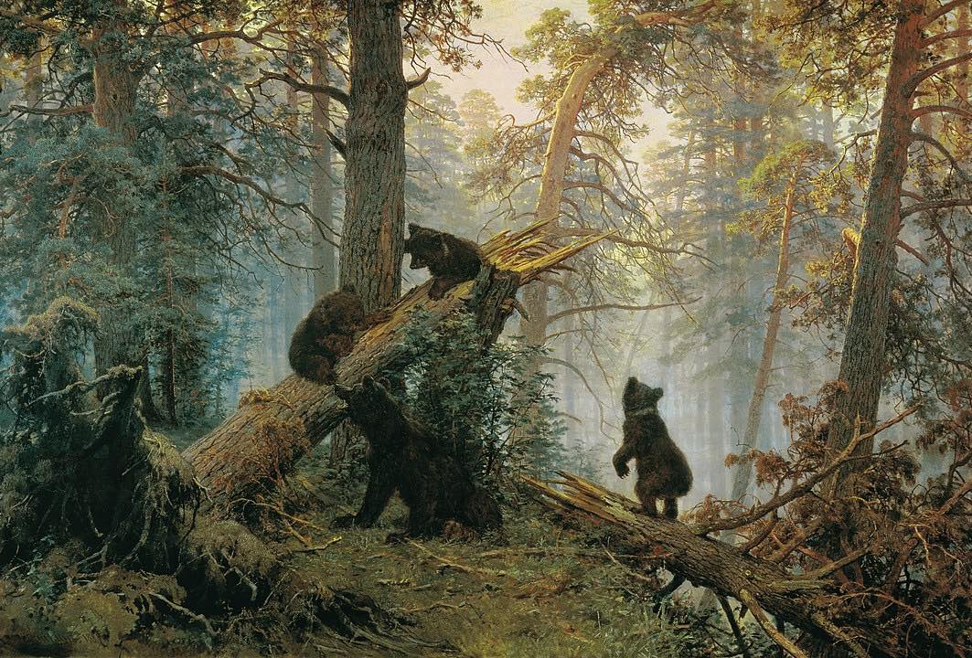 Shishkin_Ivan - Morning_in_a_Pine_Forest