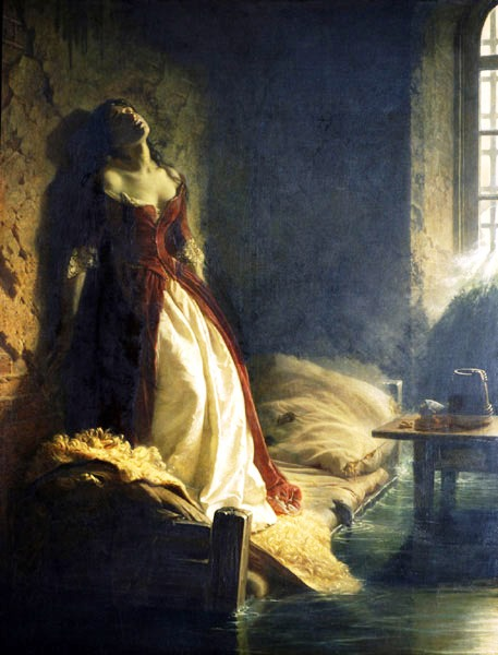 Tarakanova princess - Tretyakov Gallery