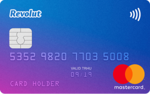 Revolut card in Russia