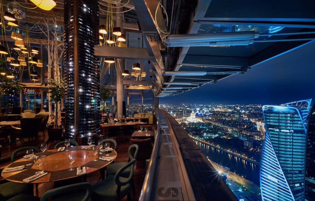 Restaurant SIXTY - Moscow City