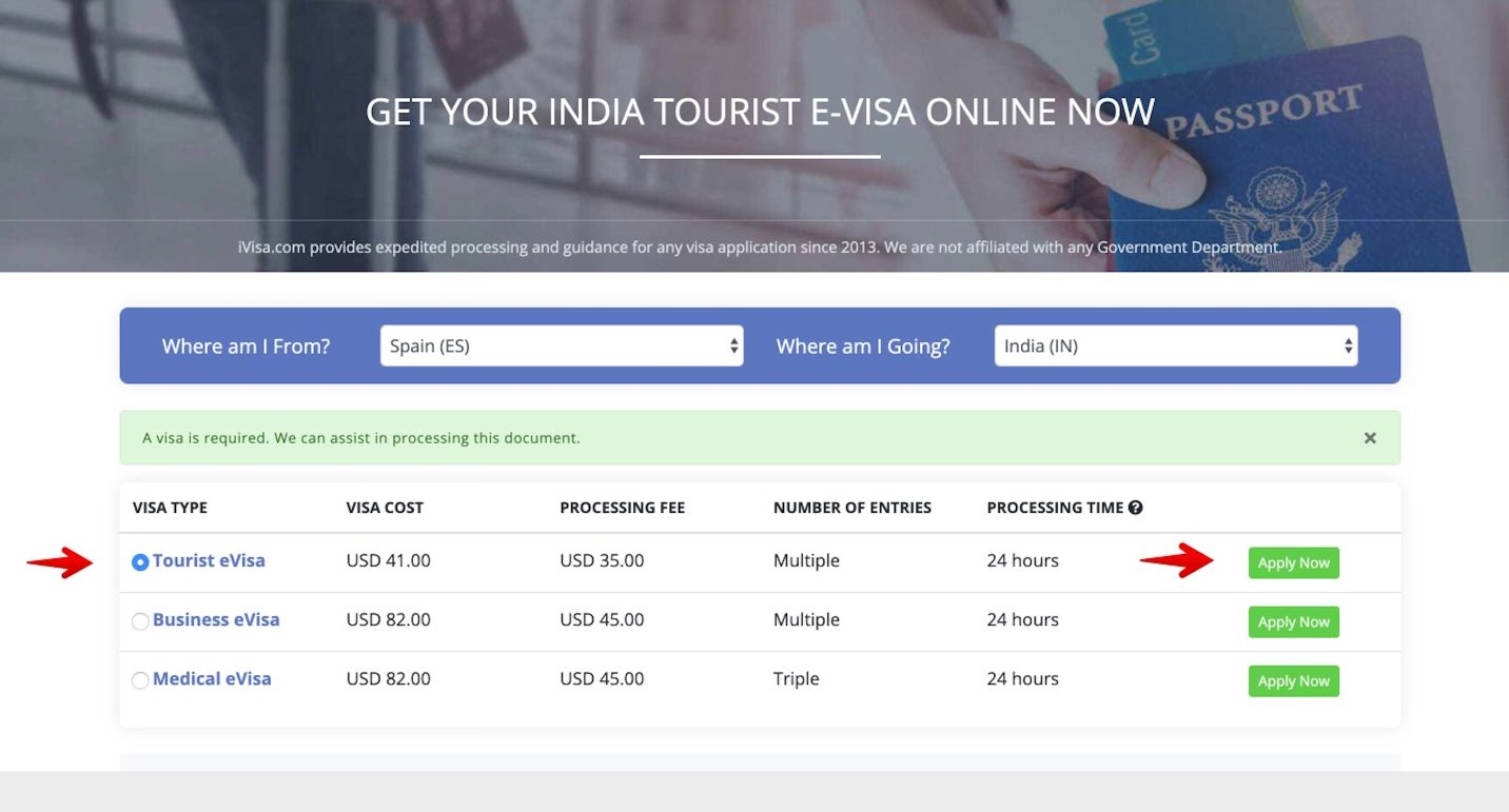 Visto India Online - iVisa 2