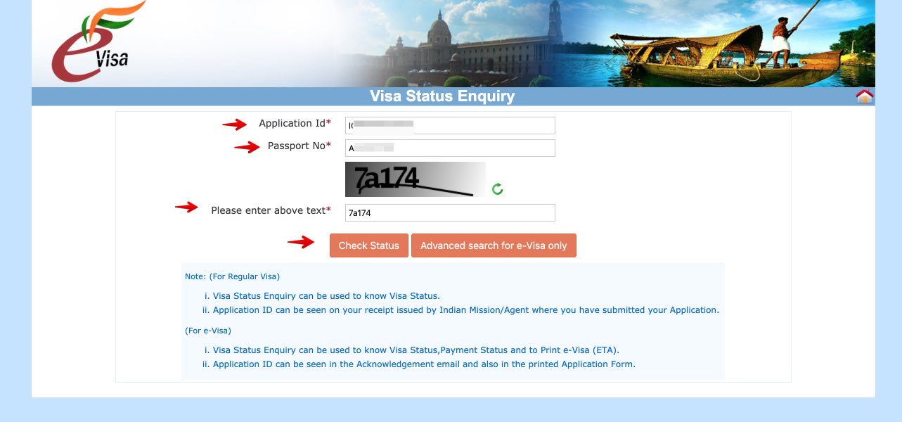 Get e-Visa to India - Step 32