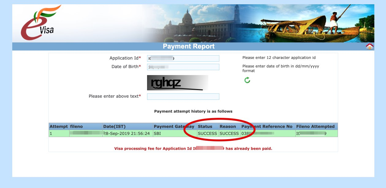 Apply for e-Visa to India - Step 22
