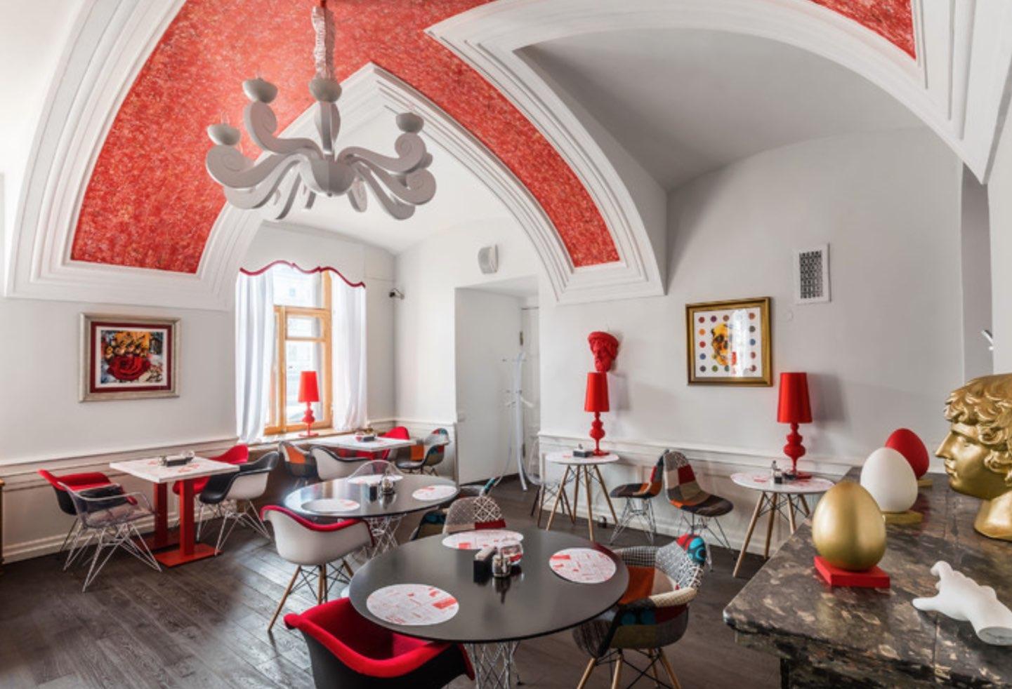 Cafeteria des Fabergé-Museums