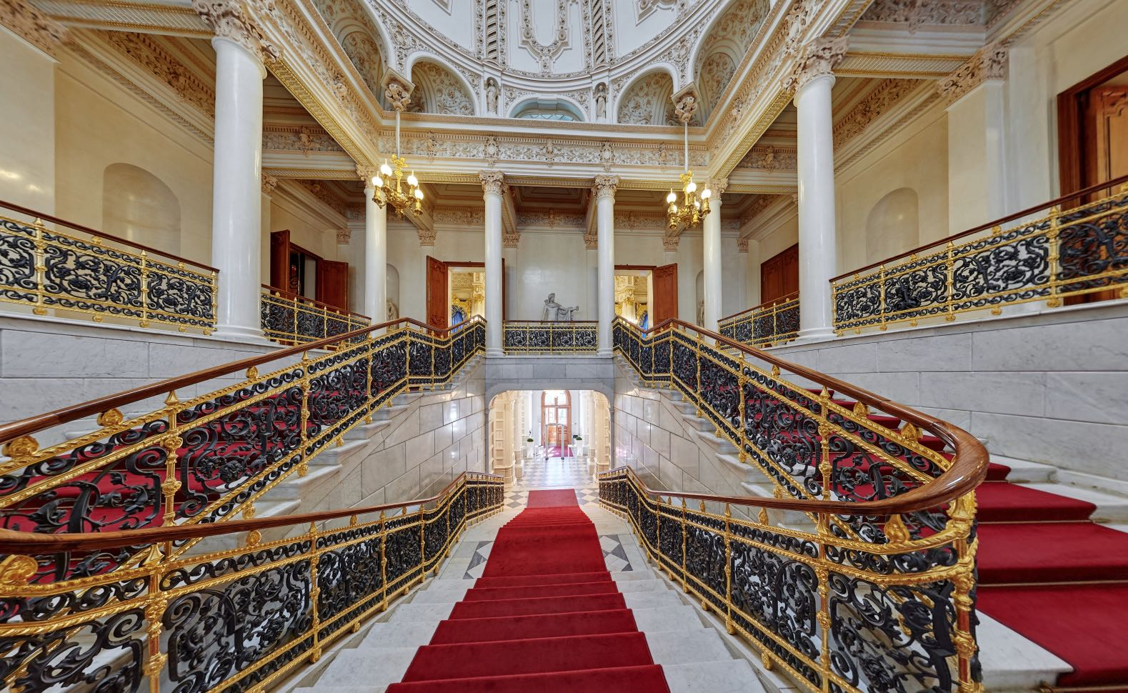 Grand Staircase Faberge Museum