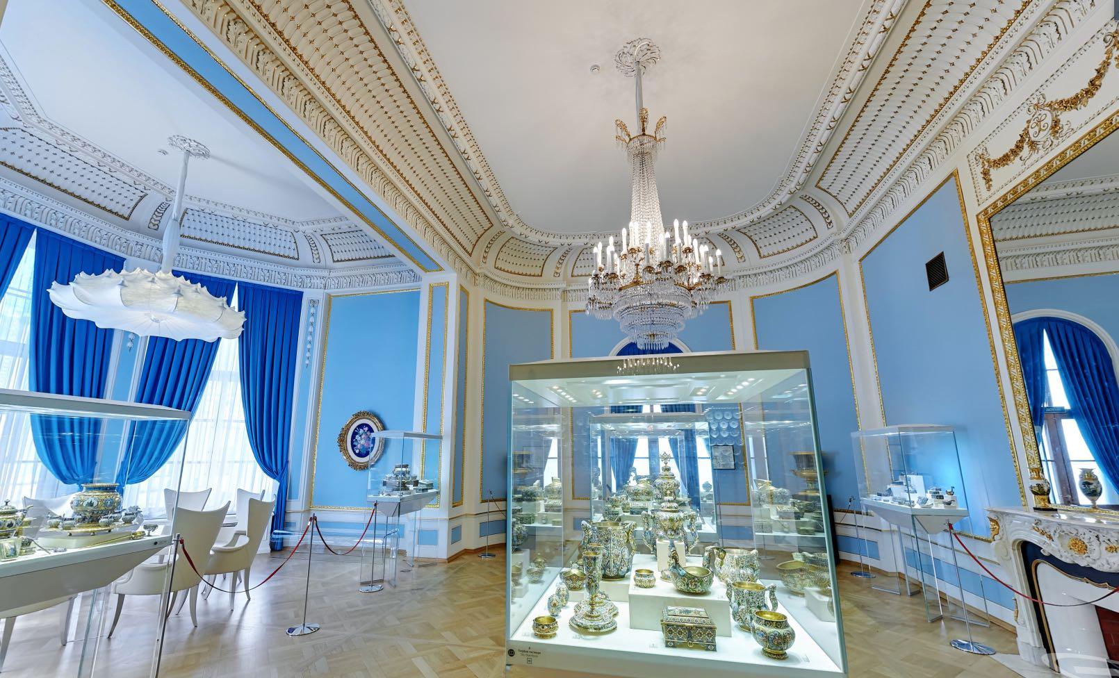 Porzellansaal - Fabergé Museum