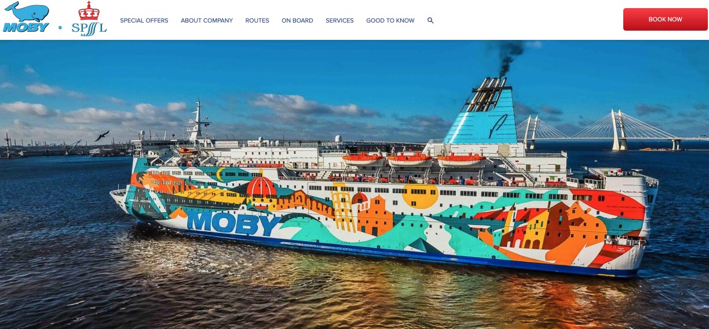 Ferry d'Helsinki à Saint-Pétersbourg - MOBY SPL