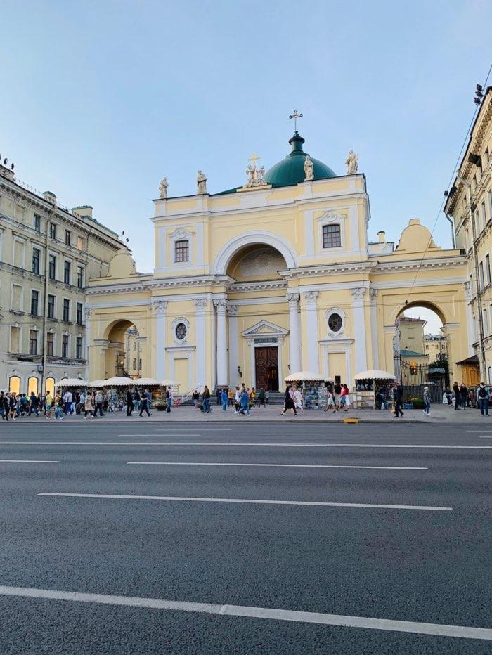 Basilique Sainte-Catherine d'Alexandrie à Saint-Pétersbourg