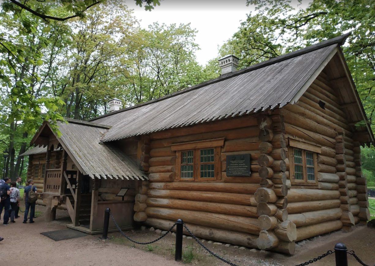 La casa dello zar Pietro I a Kolomenskoe