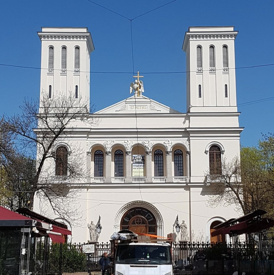 Lutheran Church of Saint Peter and Saint Paul in Saint Petersburg