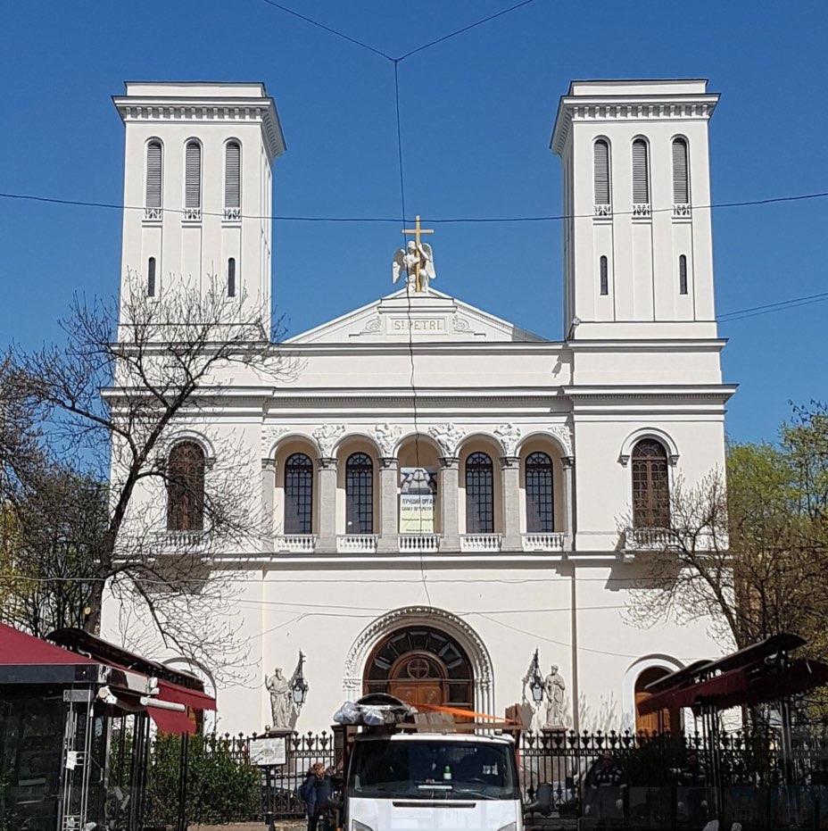Église luthérienne Saint-Pierre et Saint-Paul de Saint-Pétersbourg
