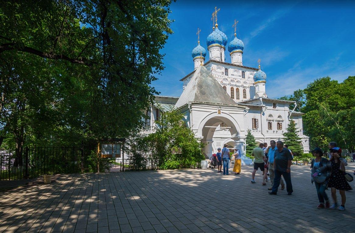 Église Notre-Dame de Kazan à Kolomenskoye