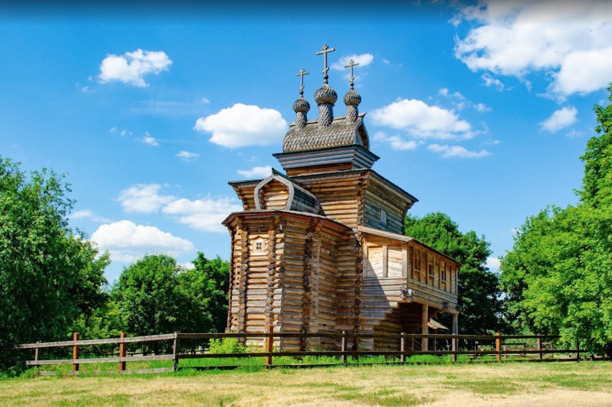 Wooden church of St. George the Victorious