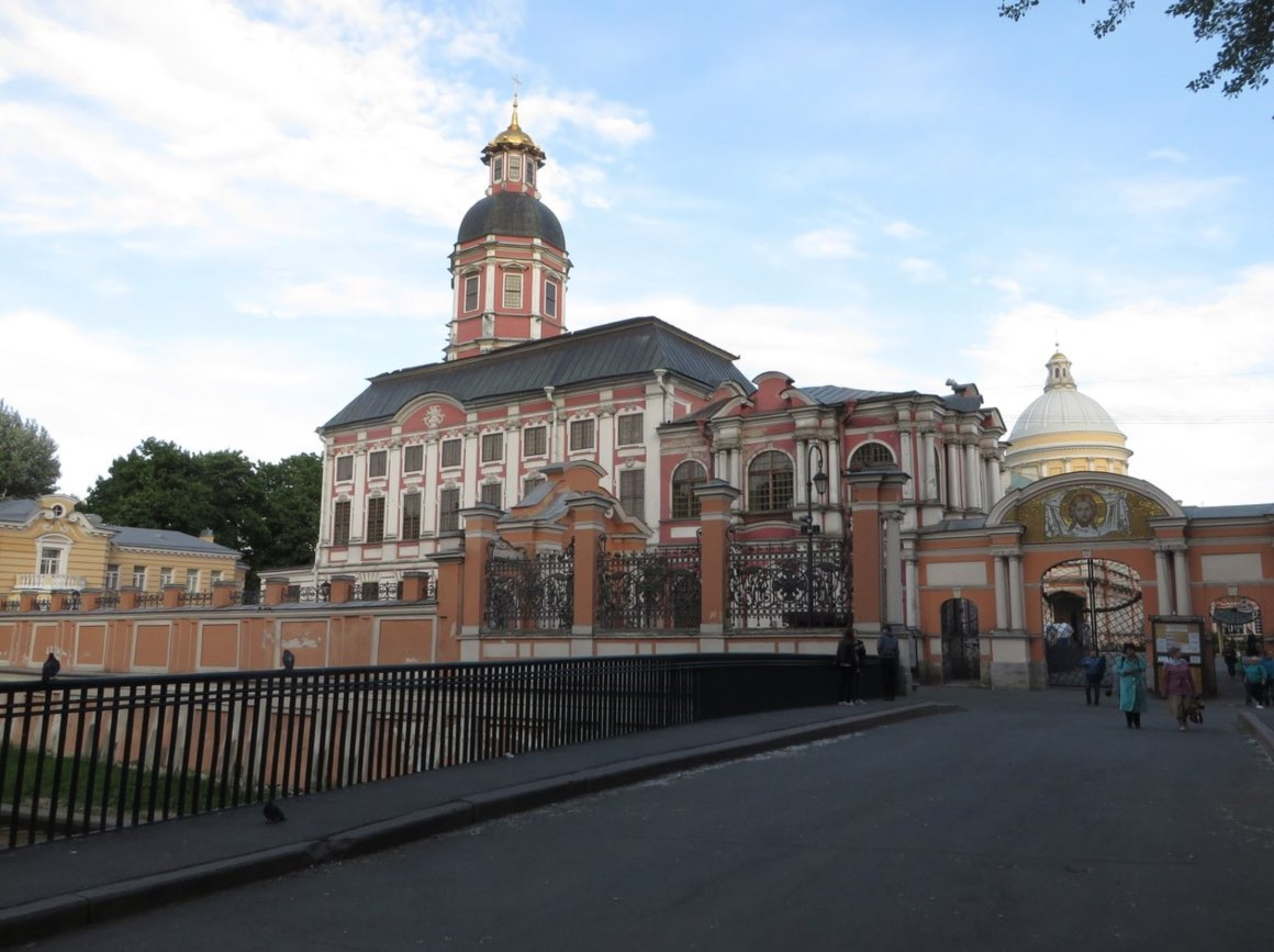 Alexander-Newski-Kloster in Sankt Petersburg
