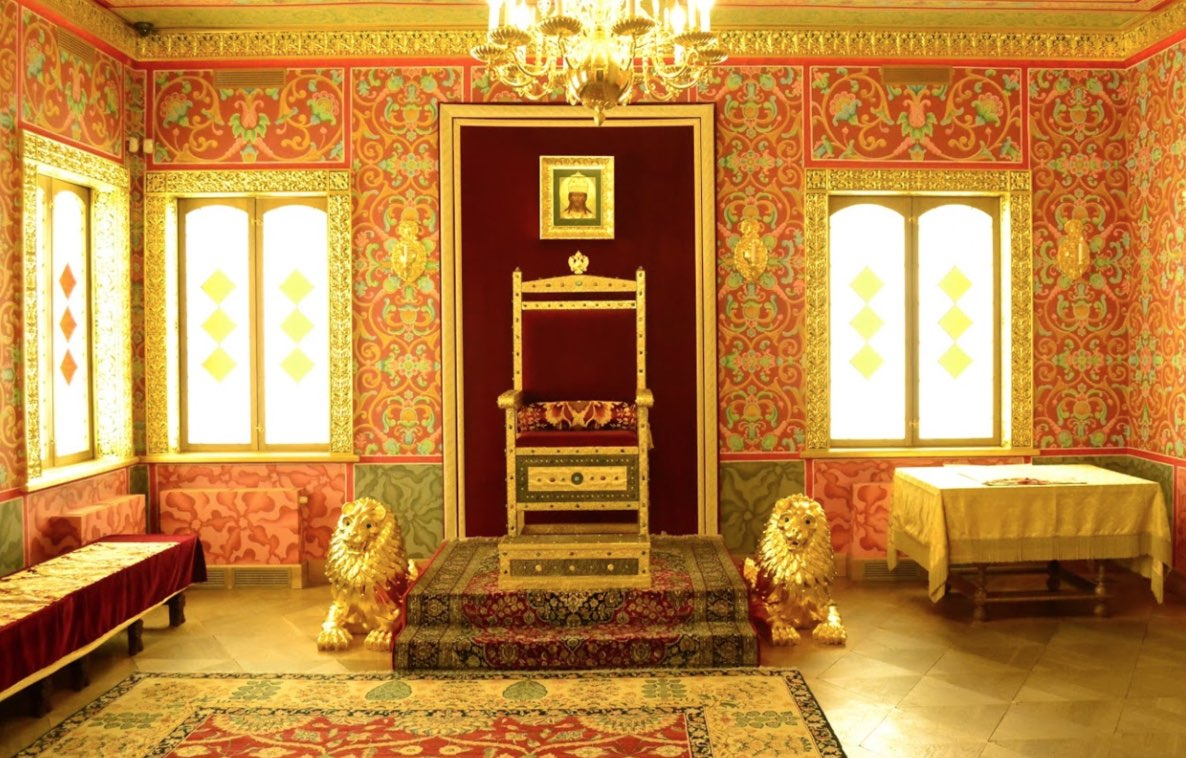 Wooden Palace of Tsar Alexis Mikhailovich - Interior 2