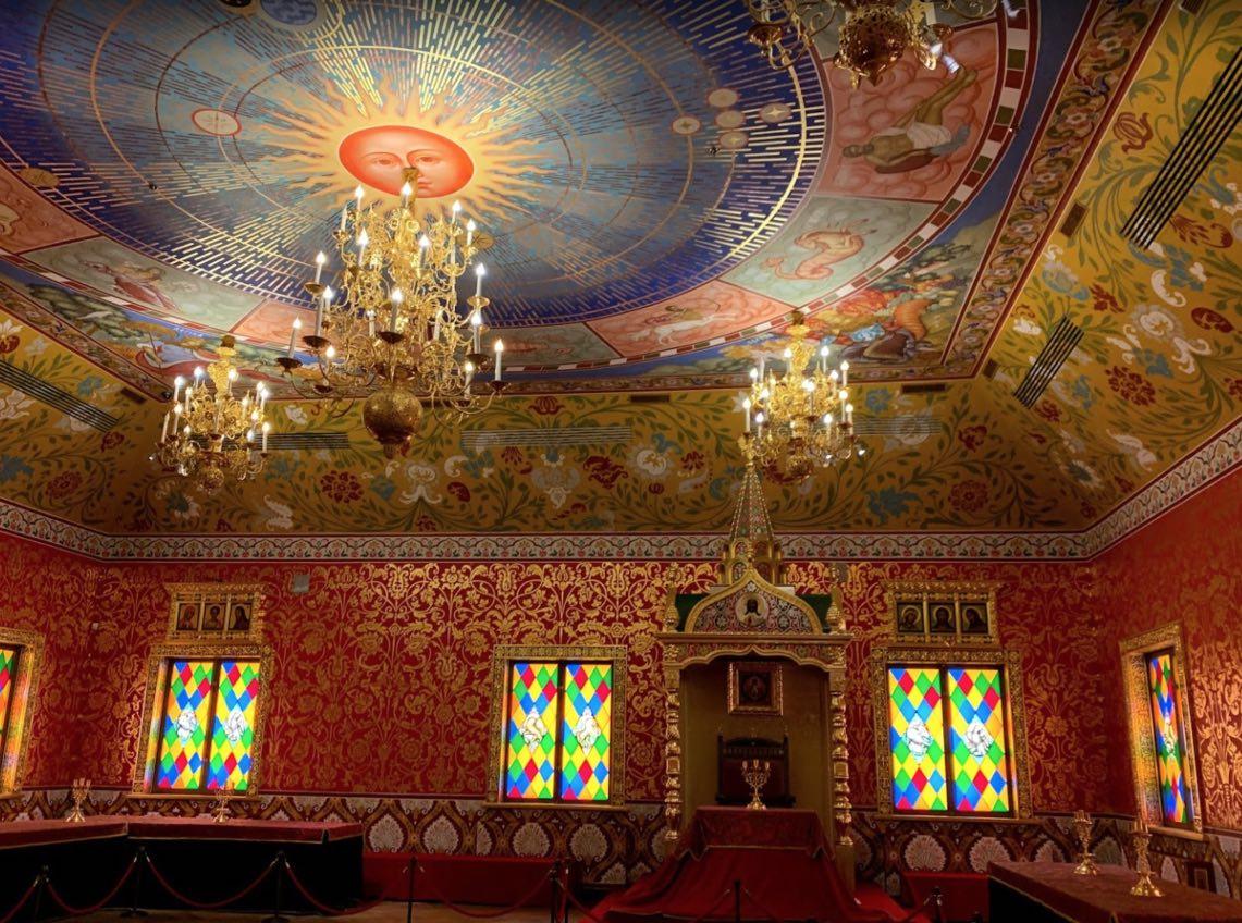 Palazzo di legno dello zar Alexis Mikhailovich - Interno