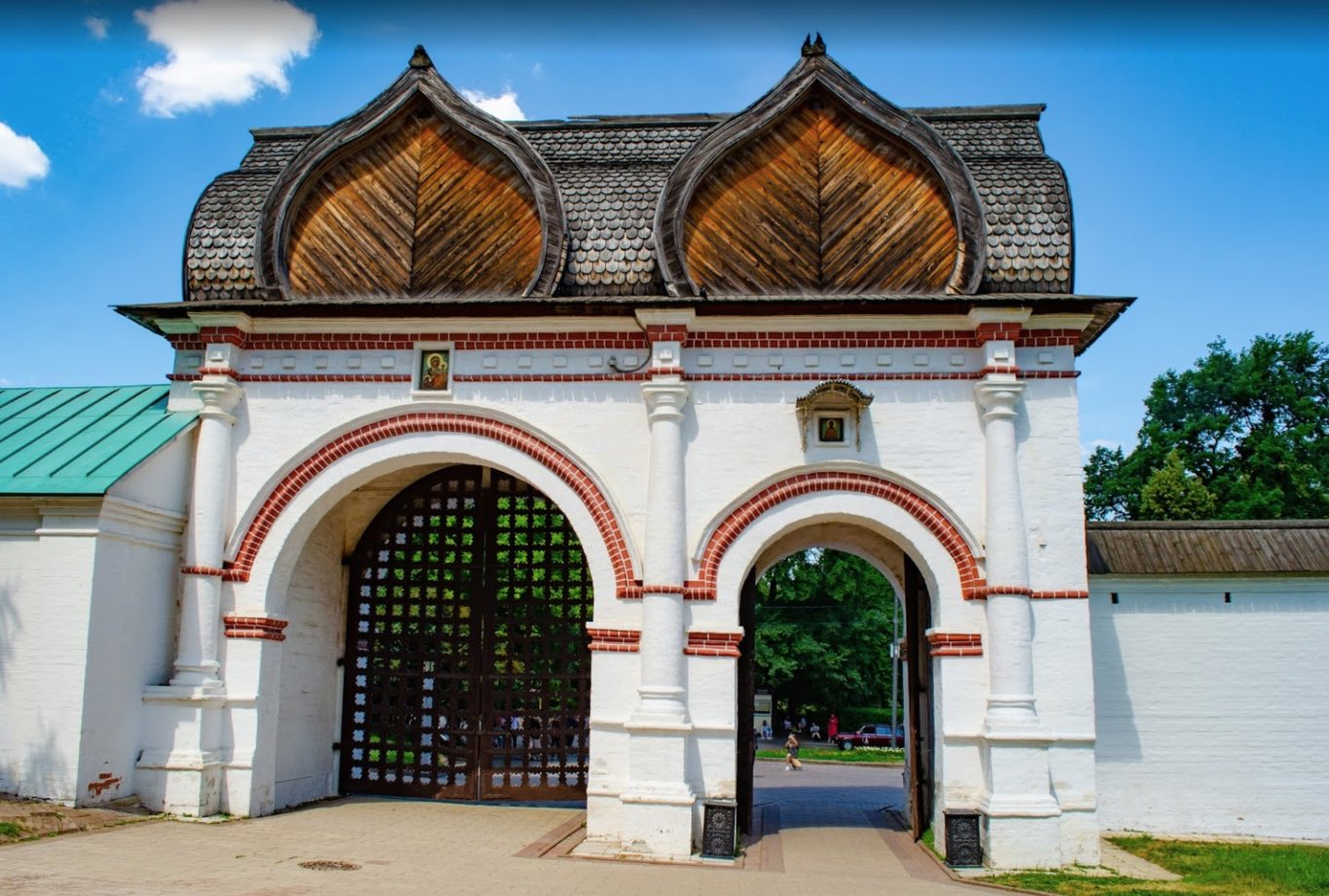 Salvatore Gate o Back Gate - Kolomenskoye