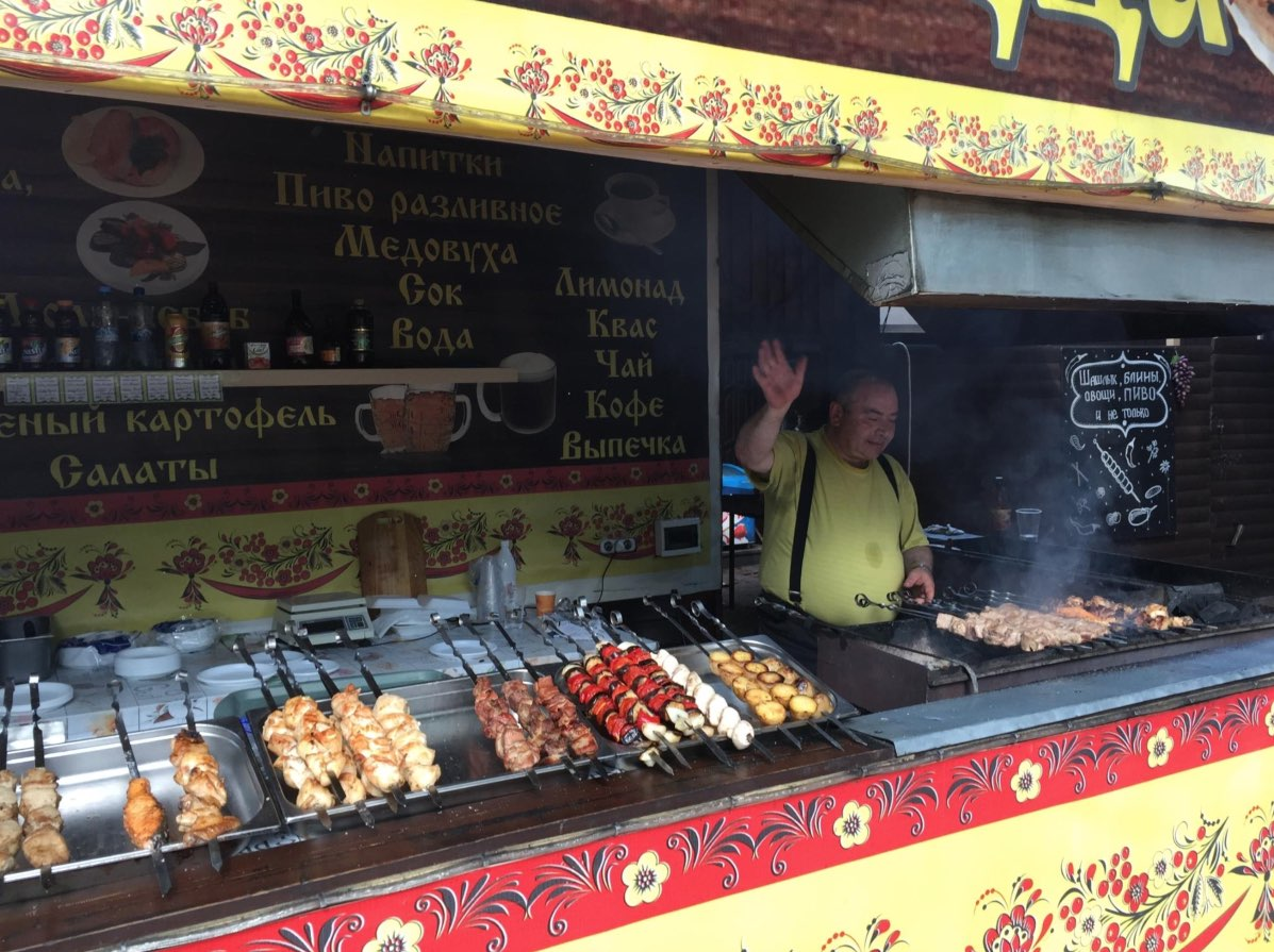 Food stall in Kolomenskoye