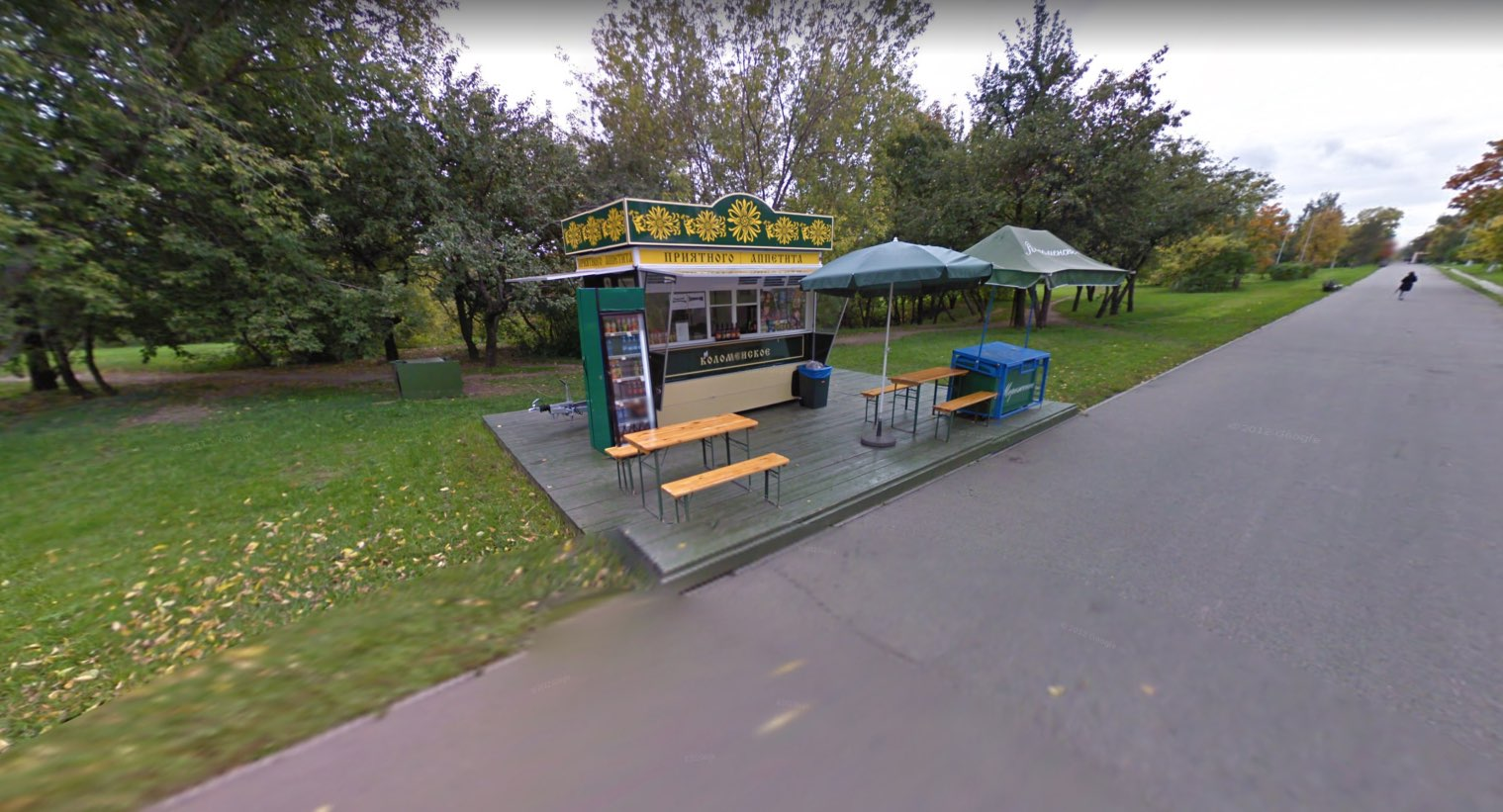 Food stall in Kolomenskoye 2