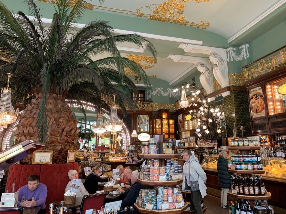 Eliseevsky Store in Sankt Petersburg - Interieur