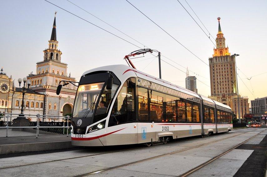Tram à Moscou