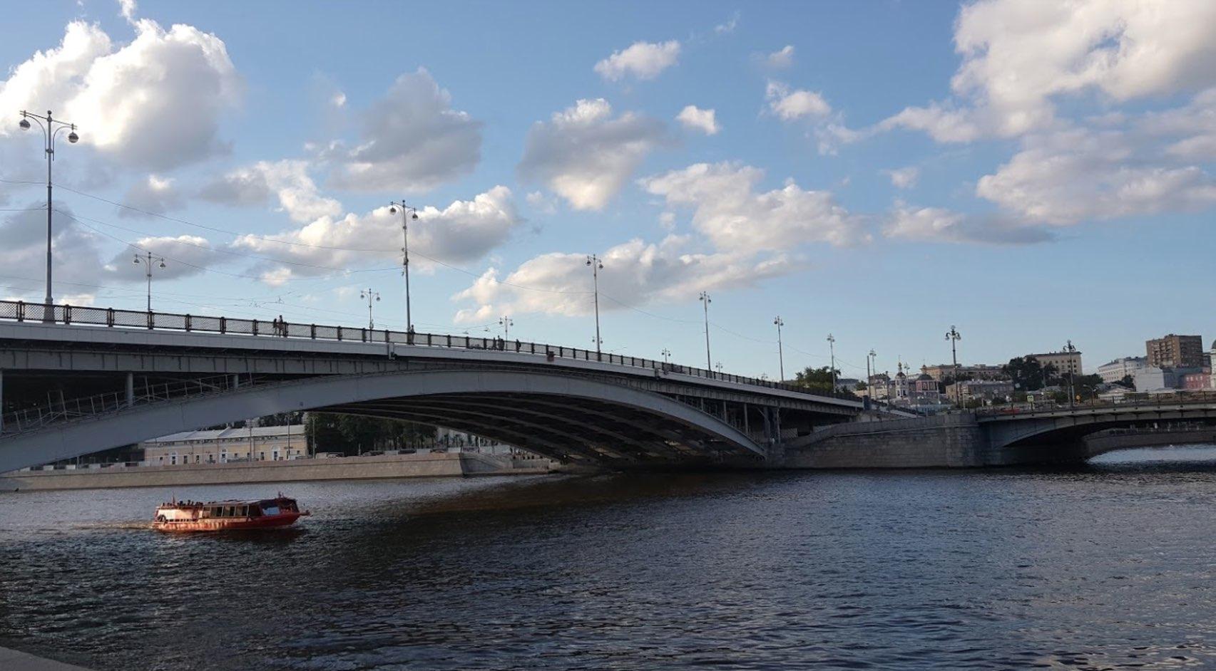 Ponte Bolshoy Ustyinski