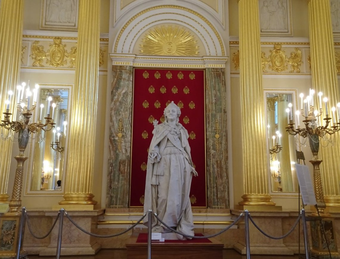 Monument to Catherine the Great in Tsaritsyno