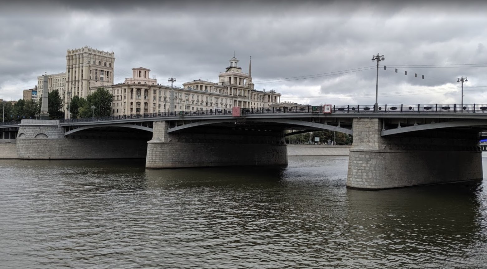 Borodinskiy bridge