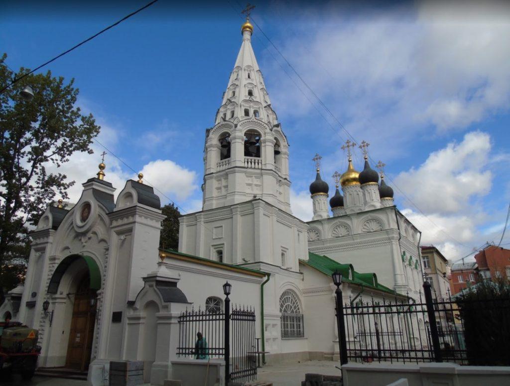 Chiesa della Trasfigurazione del Salvatore sulle Sabbie
