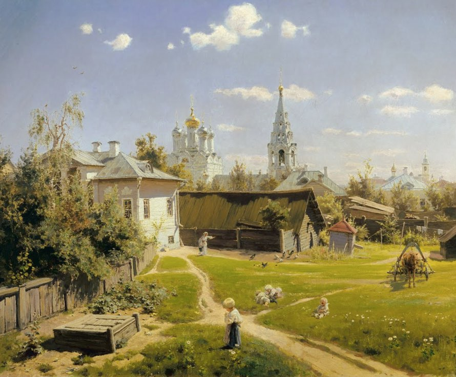 Vasily Polenov Painter - Moscow