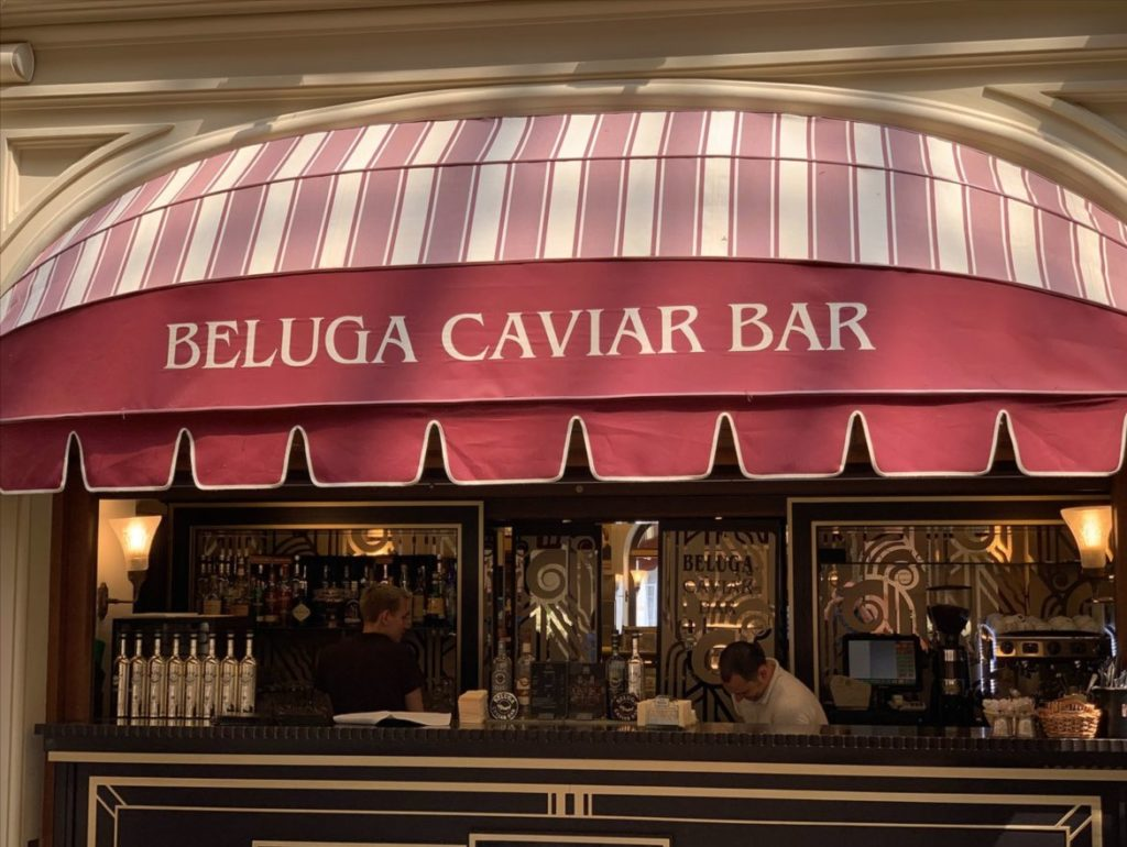 Beluga Caviar Bar 1