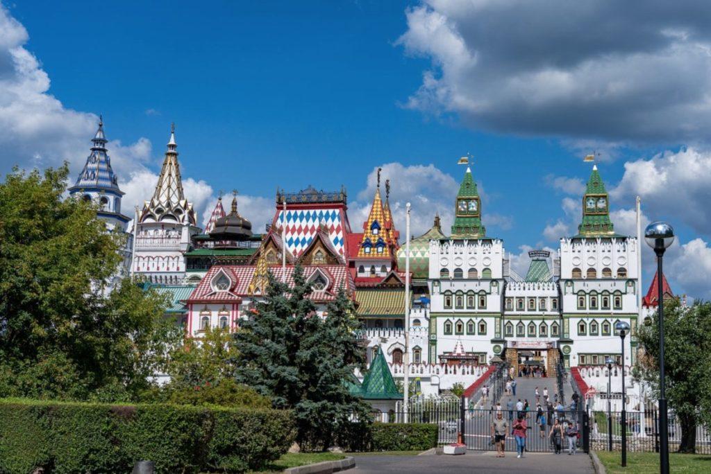 Entrée au Kremlin d'Izmailovo