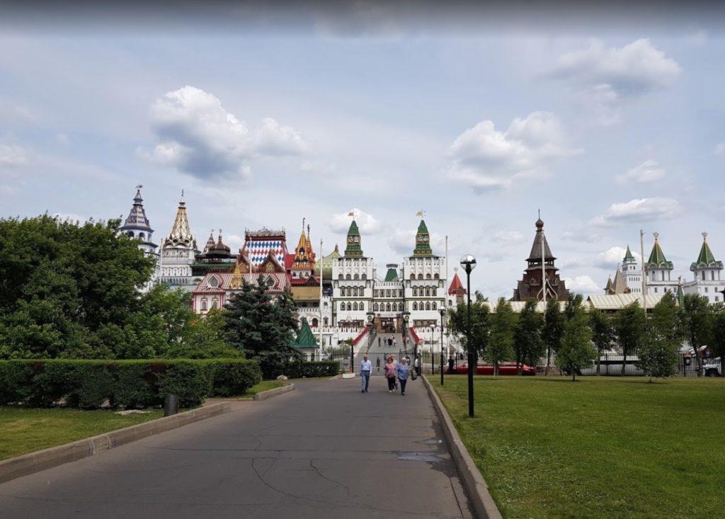 Façade du Kremlin d'Izmaylovo