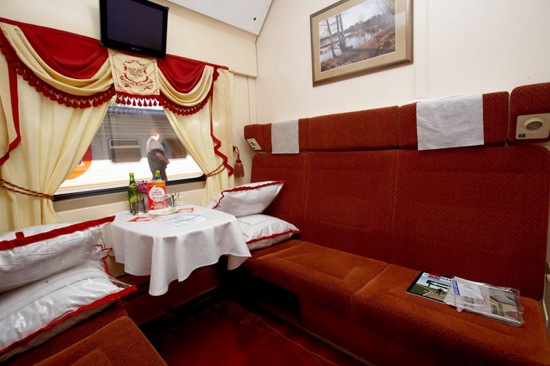 Red Arrow - First Class Compartment